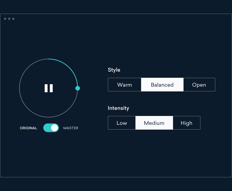 Online Audio Mastering Software - Try Mastering Free | LANDR